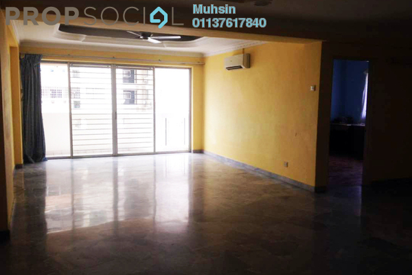 For Rent Condominium at Villa Flora, TTDI Freehold Semi Furnished 3R/2B 2.1k