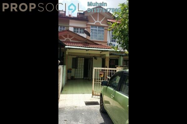 For Sale Terrace at Seri Pristana, Sungai Buloh Leasehold Semi Furnished 4R/3B 330k