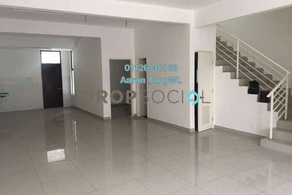 For Sale Superlink at M Residence, Rawang Freehold Semi Furnished 5R/5B 720k