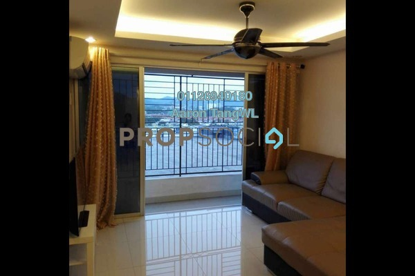 For Sale Condominium at Plaza Metro Prima, Kepong Leasehold Fully Furnished 3R/2B 450k