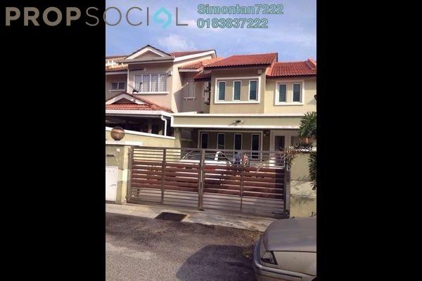 For Sale Terrace at Taman Lestari Perdana, Bandar Putra Permai Leasehold Semi Furnished 4R/3B 690k