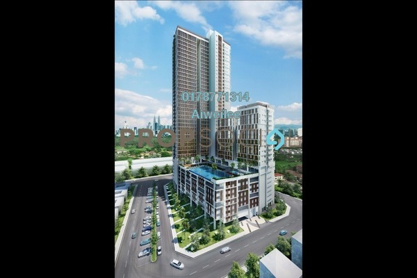For Rent Condominium at Sentrio Suites, Desa Pandan Leasehold Fully Furnished 2R/2B 2k