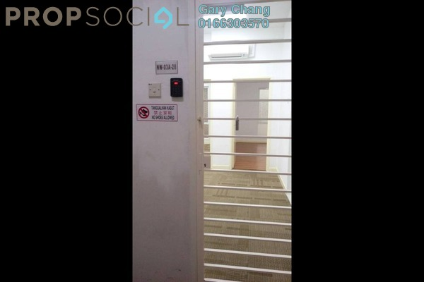 For Rent SoHo/Studio at Cova Square, Kota Damansara Leasehold Semi Furnished 2R/1B 1.4k