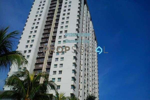 For Sale Condominium at Aman Heights, Seri Kembangan Freehold Semi Furnished 3R/2B 465k