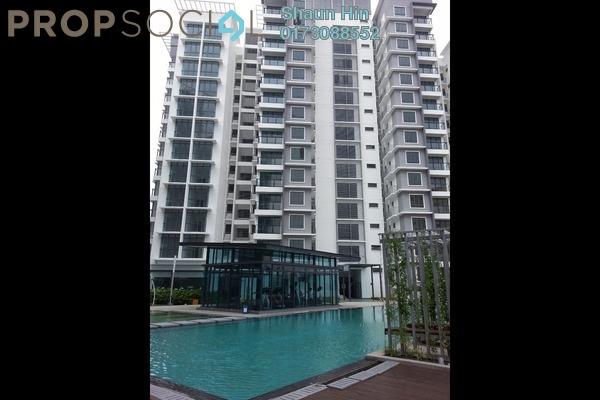 For Rent Condominium at Boulevard Residence, Bandar Utama Leasehold Semi Furnished 3R/2B 1.8k