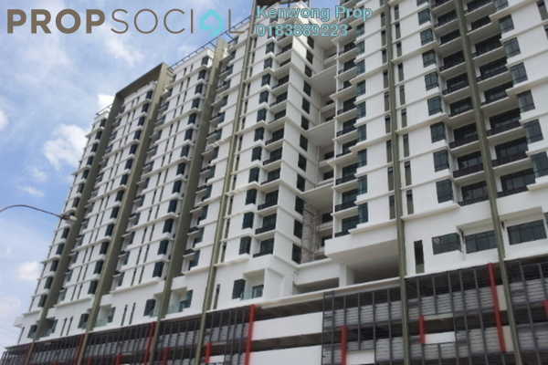 For Rent Condominium at Amaya Maluri, Cheras Leasehold Semi Furnished 2R/2B 1.7k