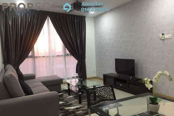 For Rent Condominium at KL Gateway, Bangsar South Leasehold Fully Furnished 2R/2B 2.9k