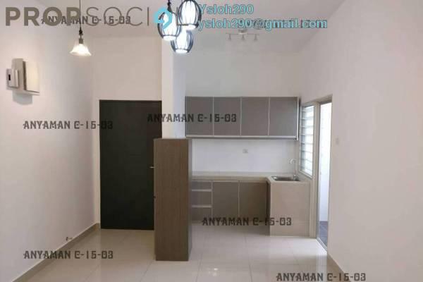 For Rent Condominium at Anyaman Residence, Bandar Tasik Selatan Freehold Semi Furnished 3R/2B 2k