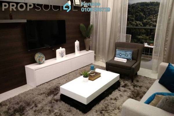 For Sale Condominium at Taman Bukit Damansara, Damansara Heights Freehold Fully Furnished 3R/2B 659k