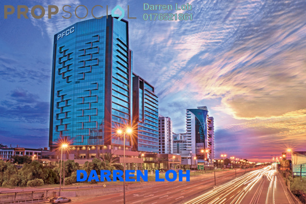 For Rent Office at PFCC, Bandar Puteri Puchong Freehold Unfurnished 0R/0B 6.7k