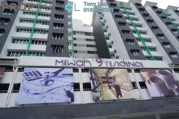 For Rent Condominium at Mewah 9 Residence, Kajang Freehold Fully Furnished 3R/2B 1.1k