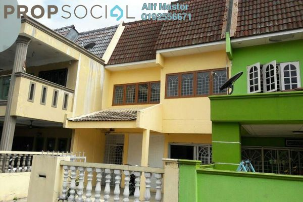 For Sale Terrace at Taman Bukit Angsana, Cheras South Leasehold Unfurnished 4R/4B 530k