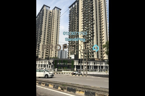 For Rent Condominium at Raffel Tower, Bukit Gambier Freehold Semi Furnished 3R/3B 2.6k