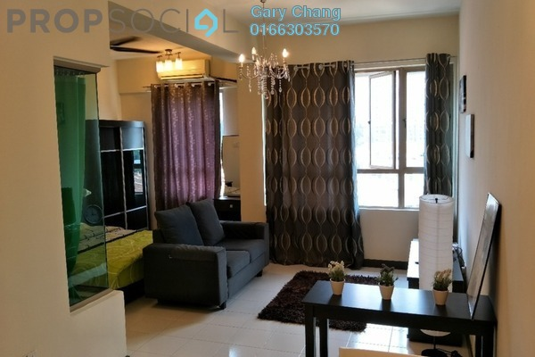 For Rent Condominium at Ritze Perdana 1, Damansara Perdana Leasehold Fully Furnished 1R/1B 1.3k