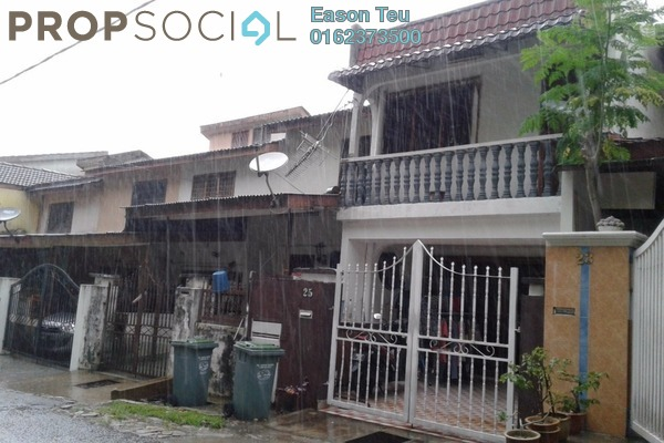 For Sale Terrace at Taman Sri Sinar, Segambut Freehold Semi Furnished 2R/2B 335k