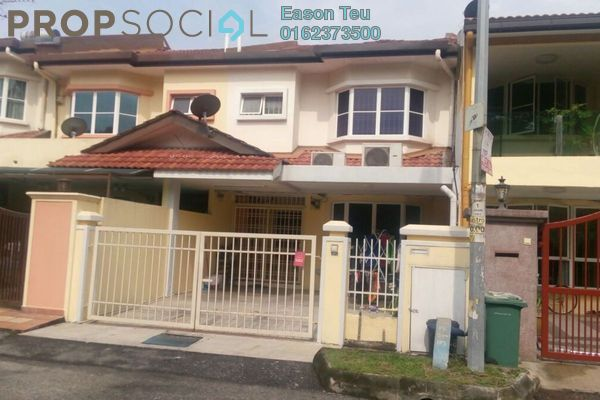 For Sale Terrace at Taman Megah, Kepong Freehold Semi Furnished 4R/3B 988k