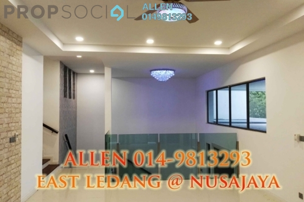 For Rent Semi-Detached at East Ledang, Iskandar Puteri (Nusajaya) Freehold Semi Furnished 4R/4B 4k