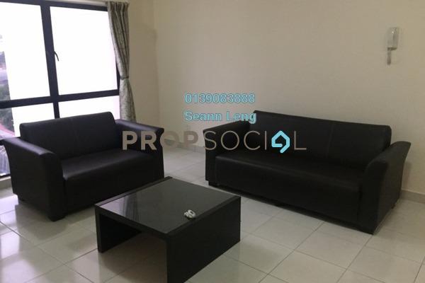 For Rent Condominium at Pelangi Damansara Sentral, Mutiara Damansara Leasehold Fully Furnished 1R/1B 1.5k
