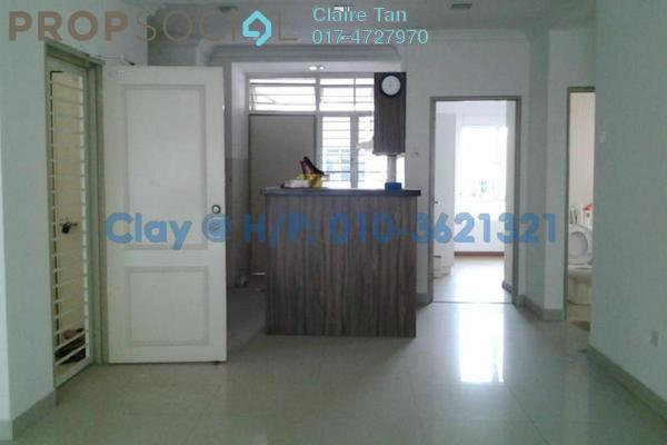 For Sale Condominium at Bayan Villa, Seri Kembangan Freehold Semi Furnished 3R/2B 470k