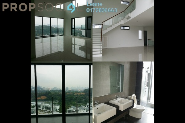 For Rent Townhouse at Sunway Montana, Melawati Freehold Unfurnished 4R/4B 3.8k