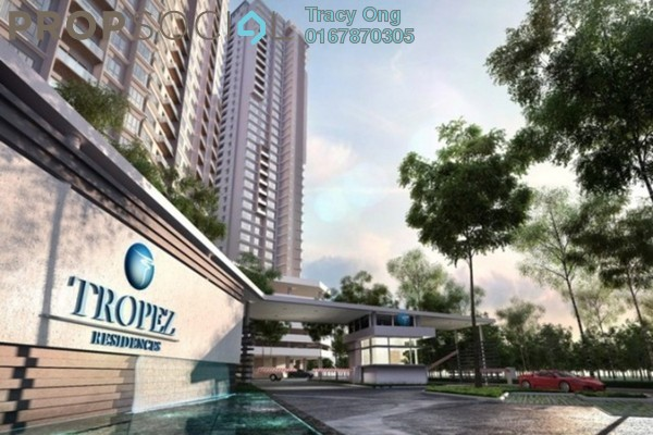 For Sale Serviced Residence at Tropez Residences, Danga Bay Freehold Unfurnished 3R/2B 450k
