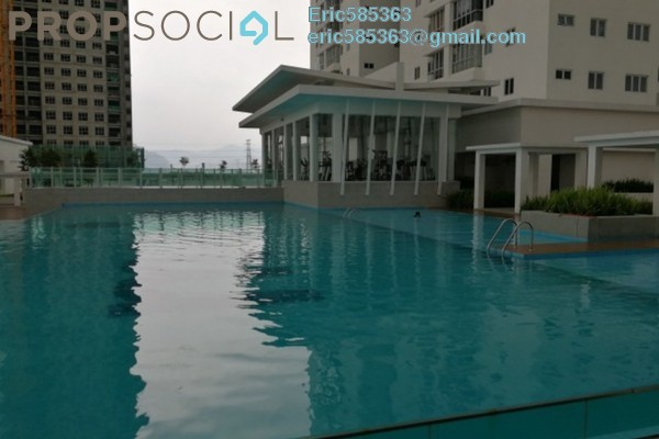 For Rent Serviced Residence at Maxim Citilights, Sentul Leasehold Semi Furnished 3R/1B 2.2k