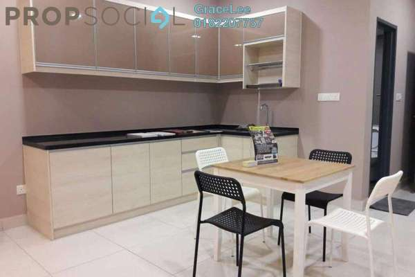 For Rent Condominium at Atria, Damansara Jaya Freehold Fully Furnished 0R/1B 1.7k