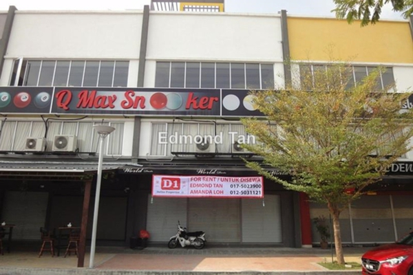 For Rent Shop at Medan Ipoh Bistari, Ipoh Leasehold Unfurnished 0R/0B 3.3k