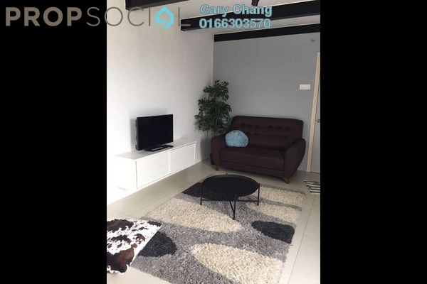 For Rent Duplex at Empire City, Damansara Perdana Leasehold Fully Furnished 1R/1B 1.6k
