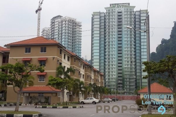 For Rent Apartment at Permai Lake View Apartment, Ipoh Freehold Unfurnished 3R/2B 600translationmissing:en.pricing.unit