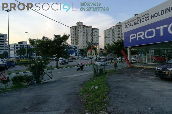 For Rent Land at Happy Garden, Old Klang Road Freehold Fully Furnished 2R/2B 55k