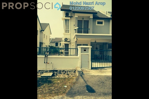 For Sale Semi-Detached at Bandar Puncak Alam, Kuala Selangor Leasehold Fully Furnished 4R/3B 485k