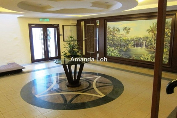 For Sale Apartment at Canning Suites, Ipoh  Semi Furnished 4R/3B 749k
