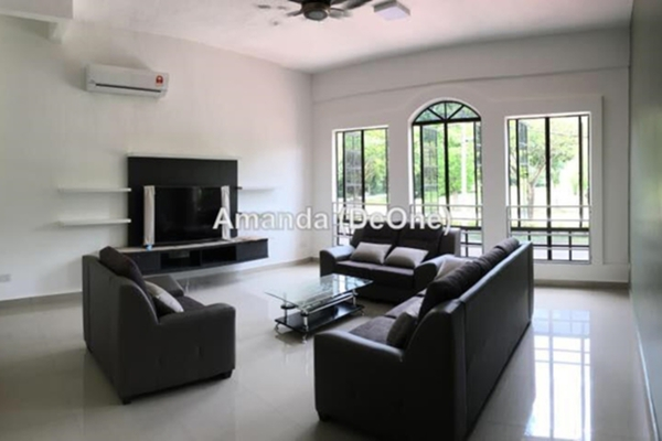 For Rent Terrace at Meru Valley EcoVillage, Ipoh Leasehold Semi Furnished 4R/4B 3k
