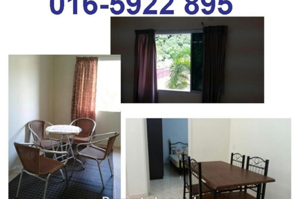 For Rent Apartment at Permai Lake View Apartment, Ipoh Leasehold Fully Furnished 3R/2B 980translationmissing:en.pricing.unit