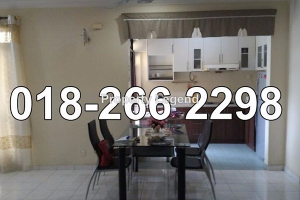 For Rent Apartment at Meru Valley Golf and Country Club, Ipoh Leasehold Semi Furnished 0R/0B 1.6k