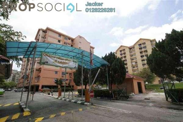 For Rent Condominium at Brem Park, Kuchai Lama Leasehold Semi Furnished 3R/2B 1.1k