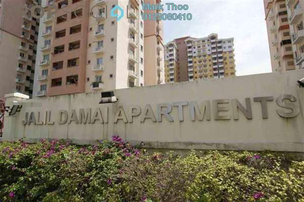 For Rent Condominium at Jalil Damai, Bukit Jalil Freehold Fully Furnished 3R/2B 1.6k