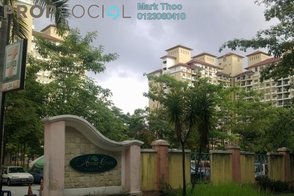 For Rent Apartment at Arena Green, Bukit Jalil Freehold Semi Furnished 3R/2B 1.3k