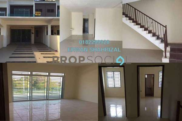 For Rent Terrace at Lavender Heights, Senawang Freehold Unfurnished 4R/3B 1.1k