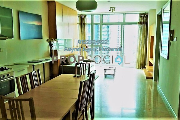 For Sale Condominium at Idaman Residence, KLCC Freehold Semi Furnished 2R/2B 1.15m