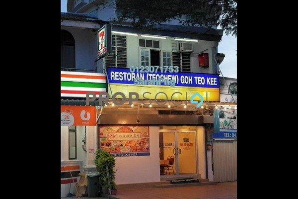 For Sale Shop at Gurney Drive, Penang Freehold Unfurnished 3R/1B 3m