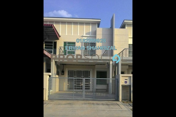 For Rent Terrace at Nusari Aman, Bandar Sri Sendayan Freehold Semi Furnished 4R/3B 1.3k