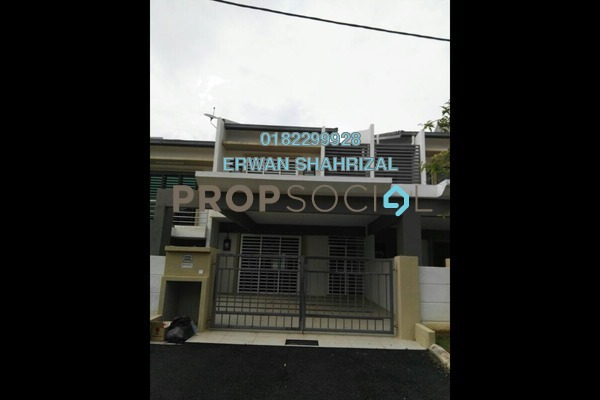 For Rent Terrace at Nusa Intan, Senawang Freehold Unfurnished 4R/4B 1.5k
