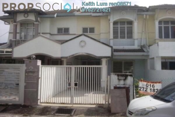 For Sale Terrace at Taman Puncak Jalil, Bandar Putra Permai Leasehold Fully Furnished 4R/3B 595k