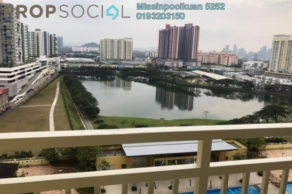 For Rent Condominium at Platinum Lake PV10, Setapak Leasehold Fully Furnished 3R/2B 1.9k