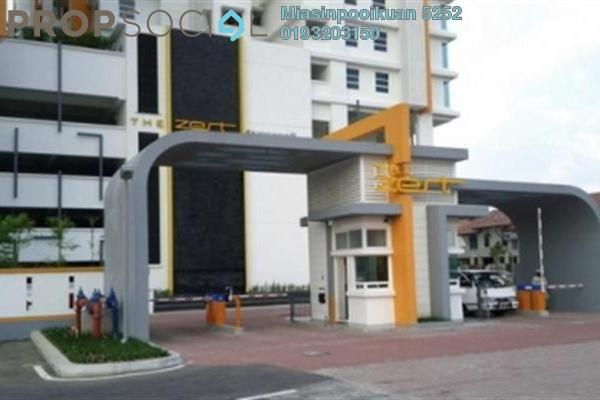 For Rent Condominium at The Zest, Bandar Kinrara Freehold Fully Furnished 0R/0B 1.8k