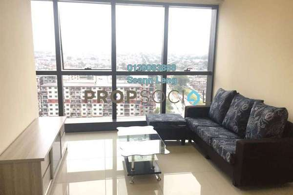 For Rent Serviced Residence at Icon City, Petaling Jaya Leasehold Fully Furnished 1R/1B 1.9k