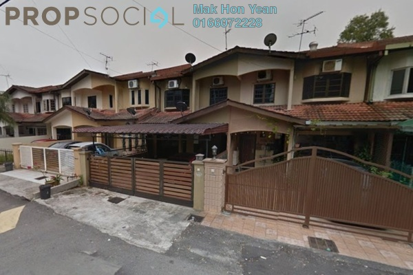 For Sale Terrace at Batu Tiga Industrial Park, Shah Alam Freehold Semi Furnished 4R/3B 420k