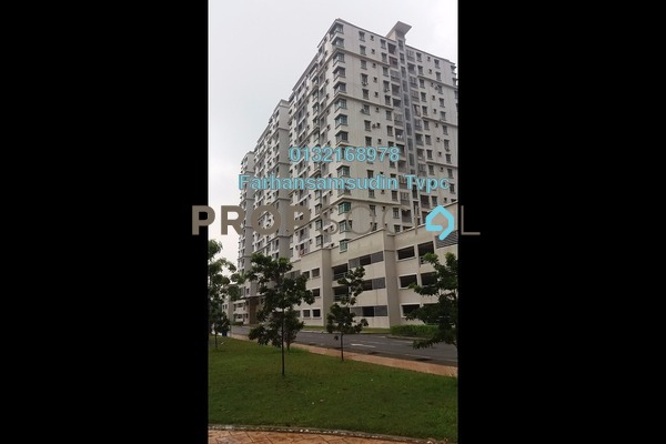For Sale Condominium at Kristal View, Shah Alam Leasehold Unfurnished 4R/2B 525k